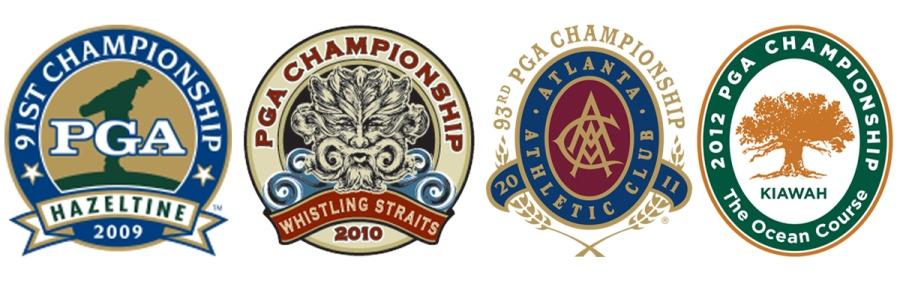 Old PGA Logos